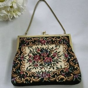 Handbags - Vintage Tapestry Handbag 👜